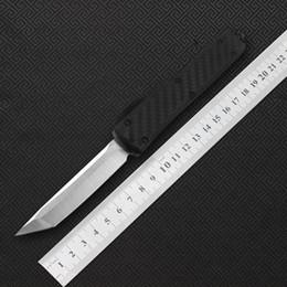 2019 facas de campismo boker MIKER faca 12 estilo double acting fibra de carbono Faca Tactical faca dobrável, alta qualidade VG10 aço fibra de carbono