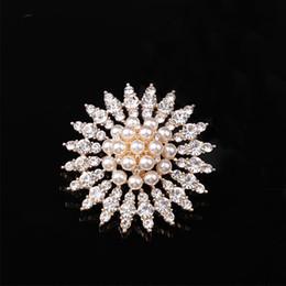 diamante pérolas vestidos de noiva Desconto Superflash diamante embutidos moda pérola grande floco de neve corsace high-grade liga chapeamento vestido de noiva vestido acessórios