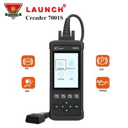 Lanzamiento X431 Creader 7001S Lector de códigos CR7001S Herramienta de diagnóstico OBD2 OBD2 completa Sistema ABS SRS Escáner automático de automóviles con restablecimiento de aceite EPB desde fabricantes