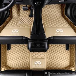 cuoio mercedes benz Sconti piede 3D Car Mats cuoio di lusso Tappetini per TOYOTA BMW BENZ Mazda CX-5 3 Ford Hyundai land cruiser Volkswagen Skoda Nissan # 5567