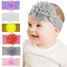 24 Pcs Solide Évider Fleur Élastiques Bandes De Cheveux Bandeaux Toddler Enfants Chapeaux Accessoires De Cheveux Belle HuiLin DWH16 ? partir de fabricateur