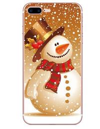 2019 handys geschenke Neues Handyoberteil für Weihnachtsältere Elchschneeflockegeschenk TPU Softshell für Handygroßverkauf Für iPhone X XR XSMAX rabatt handys geschenke