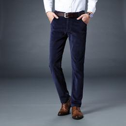 4509c1181bad0a dicke männer cord hose Rabatt Mode Herbst Winter Jeans Männer Casual  Business Style Klassische Lange Hosen