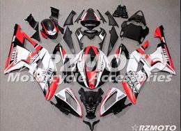 2019 carenagem de ninja roxo 3 presentes novos kits de carenagem completa abs apto para yamaha yzf-r6 08-16 ano yzf600 2008 2009 2010 2011 2015 r6 carroçaria conjunto personalizado branco vermelho