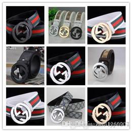 cinto de cintura de moda de metal Desconto 2016 marca de moda 100% genuíno dos homens de couro cinto casual de metal Famosa Marca cintos para homens calças de brim de alta qualidade Cintura frete grátis