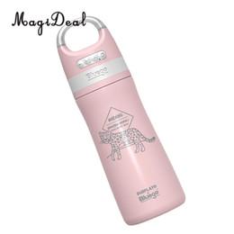 Pink water bottle en Ligne-450 ml bouteille d'eau multifonctionnelle Bluetooth haut-parleur haut-parleur sans fil bouteilles à boire rose en acier inoxydable Bluetooth
