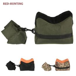 2019 винтовка FrontRear Rifle Bags Сумка для охоты с мешком с песком Отдых Sniper NO SAND Стенд Стрельба из винтовки Bag # 28797 дешево винтовка