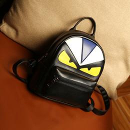 Escola mochila mochila coruja on-line-Marca Designer Estudantes Mochilas Coreano Personalidade Criativa PU Moda Maré Coruja Dupla Ombros Saco Para O Estudante Sacos De Escola