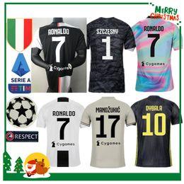 Canada Juventus Ronaldo DYBALA PJANIC COSTA maillot de football 19 20 Italie MANDZUKIC BUFFON domicile homme femme enfants kit garçon JUVE shirt de football sportif supplier sports kits Offre