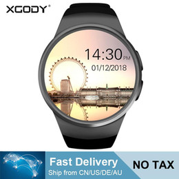 XGODY KW18 Akıllı İzle Bağlı Kol Saati Için Xiaomi Android Desteği Nabız Çağrı Messager Smartwach telefon nereden