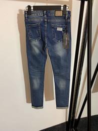 Hoch taillierte capris hose online-Hohe Taille Stil-Loch-dünne Jeans Frauen-Jeans-Hosen-Jeans-Boom 1 78976