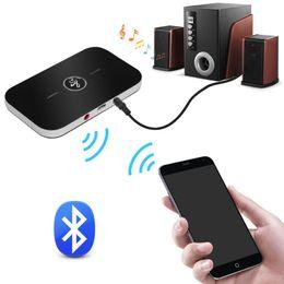 bluetooth adapter rca Rabatt B6 2in1 Bluetooth 4.1 Sender Empfänger Wireless A2DP Audio Adapter Aux 3.5mm Audio Player für TV Home Stereo Smartphone