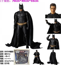justice toys Promo Codes - 17cm Justice League Batman The dark knight movie doll Anime Figure PVC Collection Model Toy Action figure for friends gift T191109