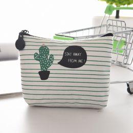 lindas carteras pequeñas para mujeres Rebajas eTya Dibujos Animados Lindos Pequeños Niños Monedero de la Mujer Monedero Monedero Monedero Monedero Bolsa de Cambio de Cactus Bolsa Titular de la Clave C2