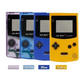 игровая консоль для мальчиков Скидка GB Boy Classic Color Color Портативная игровая приставка 2.7