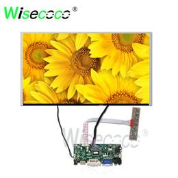 Панель vga lcd онлайн-17,3-дюймовый TFT LCD 1920 * 1080 FHD экран G173HW01 V0 с панелью контроллера HDMI VGA подходит для ПК промышленного