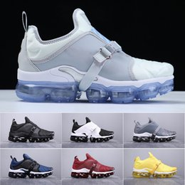 pvc wraps Promo Codes - 2019 New Mens air Vmax Plus Paris Cushion Running Shoes TN Plus 2.0 strap that wraps around women's Designer Sneakers Size 36-45