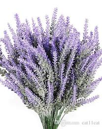 8шт искусственные цветы лаванды букет поддельные лаванды завод расслоение свадьба Home Decor сад патио украшения от