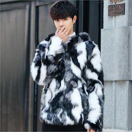 cappotti con pelliccia uomo offerta