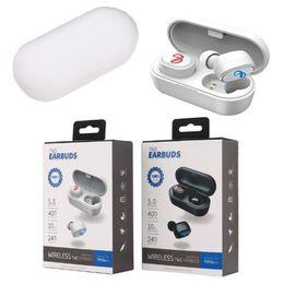 Auriculares estéreo bluetooth de marca online-Calidad de marca tws6 mini TWS auriculares Bluetooth 3D estéreo deporte auriculares inalámbricos con caja de carga MIC auriculares para juegos para iphone tableta lg