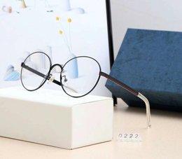 новые мужские солнцезащитные очки модели Скидка Новые Модные Солнцезащитные Очки Плоские Зеркало Близорукости Роскошные Солнцезащитные Очки для Мужчин Женщин Goggle Light Очки Модель Высокого Качества 0222 с Коробкой