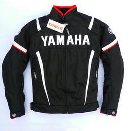 gps yamaha Rabatt Motocross Jacken Moto GP Rennsport Jacke mit Schutz für YAMAHA M1-Team Motorrad-Bekleidung Kostenloser Versand 602 WY