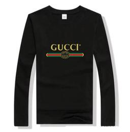 Повседневная одежда онлайн-Мужская женская 100% хлопок с длинными рукавами футболки поло тройники Luxary новый дизайн Моды случайные активные рубашки Poloshirt топы CXXHD
