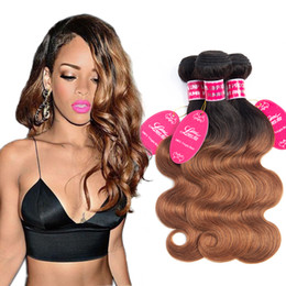 hair dye products Coupons - Human Hair Bundles Body Wave 1B 30 brazilian grade 8a Mink cheap Indian Human Virgin Hair body wave extensions wefts longjiahair Products