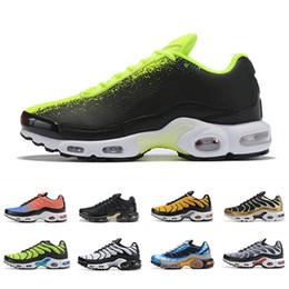 Zapatillas de deporte de las mujeres online-nike air vapormax plus tn Plus SE Tn Tuned 1 Hybird Mens Running shoes Men Sneakers Tns Fashion Brand shock orange Womens Trainers sports sneakers 36-45