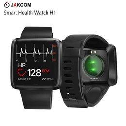 Wholesale JAKCOM H1 Smart Health Watch Nouveau produit dans les montres intelligentes comme montre poignet xx vidéo mp3 bip