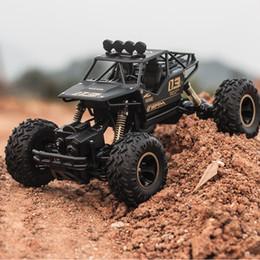 control de escala Rebajas RC Car 2.4 GHz de Alta Velocidad Vehículos de Control Remoto 1:16 Escala Off Road RC Trucks Racing Toy Buggies Coche de Escalada, Tracción en las cuatro ruedas
