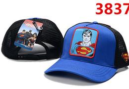 ГОРЯЧИЕ Продажи Новый DC Comics Snapback Cap BATMAN Регулируемые Супермен Шляпы Мужчины Женщина Бейсболки Мода хип-хоп Шляпы Marvel Мультяшный стиль от