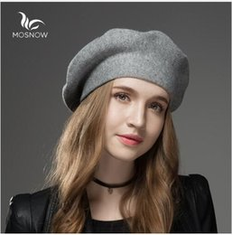 2c06c237b58b8 Winter Hat Berets 2019 New Wool Cashmere Womens Warm Casual High Quality  Women's Vogue Knitted Hats For Girls Cap