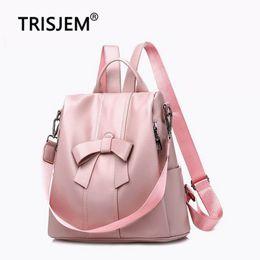 2019 billige rosa rucksäcke Frauen Rucksack 2019 Casual Rosa Rucksack Tasche Frauen Qualität Pu-leder Rucksäcke Weibliche Günstige Schultaschen für Mädchen Im Teenageralter günstig billige rosa rucksäcke