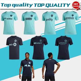 2019 c uniforme 2019 MLS Parley para los Océanos Toronto D. C. United LA Galaxy Red Bulls Nueva marca de fútbol 19/20 Uniformes de fútbol de manga corta Personalizar ventas c uniforme baratos