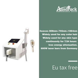 alexandrite laser hair removal machines Promo Codes - New products high power 755nm 808nm 1064nm alexandrite triple wavelength diode laser hair removal machine fast and comfortable