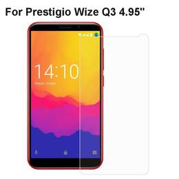 2019 защитная пленка для экрана мобильного телефона Prestigio Wize Q3 Tempered Glass Protective Film For Prestigio Wize Q3 Glass Phone Screen Protector Mobile Phone Film дешево защитная пленка для экрана мобильного телефона