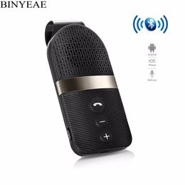 universal bluetooth multipoint speakerphone Promo Codes - Portable Universal Bluetooth V4.0+EDR HandsFree Car Kit Wireless MultiPoint Connection Speakerphone with CVC DSP Microphone