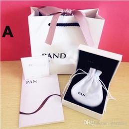 2019 caixas de jóias de embalagem de veludo Super Qualidade Amante Corações Moda Caixas De Jóias conjunto de Embalagem Para Encantos Pandora T carter Swar marca Pulseira de Prata caixa Original sacos de Presente