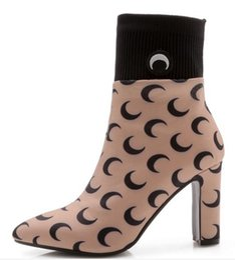 feb349195418 Pop 2019 Sapato Feminino Women Boots Mid-calf Shoes Woman Chunky High Heels  Pumps Autumn Booties Gladiator Chaussures
