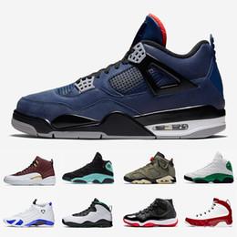 Palla militare online-4s Leale Blu Quello che i 11s verdi di pallacanestro del Mens scarpe 13s fortunati Bred 9s Travis Cactus Jack 6 12s scarpe da ginnastica Ball Game Sport