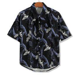 Размер рубашки см онлайн-Лето плюс размер 2xl-9xl 10xl с коротким рукавом хлопок печати отложным воротником футболка мужчины футболка Maletshirt бюст 165 см