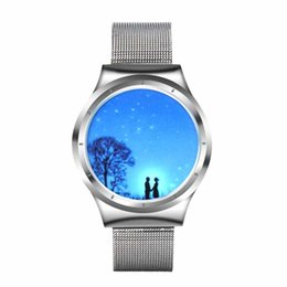 Нормальные часы онлайн-Creative personality Star Sky normal LED Lovers' watch women couple watch men electronics casual watches students clock hour