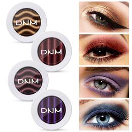 2019 livros de maquiagem grátis DNM Magnetic Eyeshadow Powder Maquiagem 9 Cores Shimmer Matte Sombra de Olho Glitter Blooming Natural Beleza Nua Destaque Olhos Maquiagem