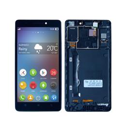 lenovo k3 note pantalla táctil Rebajas Para Lenovo K50 K3 Note K50T Pantalla LCD Digitalizador Conjunto de pantalla táctil + Marco