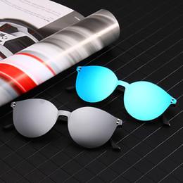 95dfae063 Marca TR90 Flexível Retro Eyewear Mulheres Clips Lentes Polarizadas Ímã  Homens Espelho Óculos De Sol Óptica Óculos Frames Rodada à venda
