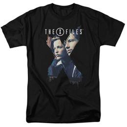 Gratuit x tv en Ligne-X-Files TV X-Agents licence adulte T ShirtFunny livraison gratuite Unisexe Casual T-shirt