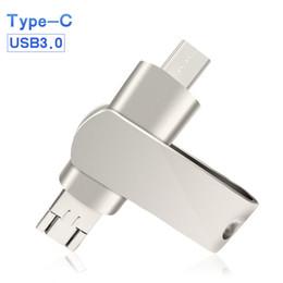 Lüks Flash Sürücü USB 3.0 Metal Gerçek Kapasite Flash Disk 32 GB USB 3.0 64 GB 16 GB Android Dizüstü PC Için 128 GB Pendrive ... nereden