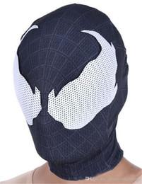benutzerdefinierte cosplay stiefel Rabatt Halloween Naruto Venom Cosplay Maske Mode Watchmen Deadpool Kostüm Zubehör Unisex Bekleidung