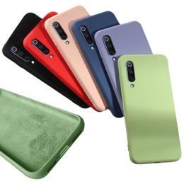 2019 casos mi nota Funda de silicona líquida oficial para Xiaomi Mi 8 9 SE 8SE mi8 lite 6X Mix 2S 3 Redmi Note7 Note 7 Pro GO casos mi nota baratos